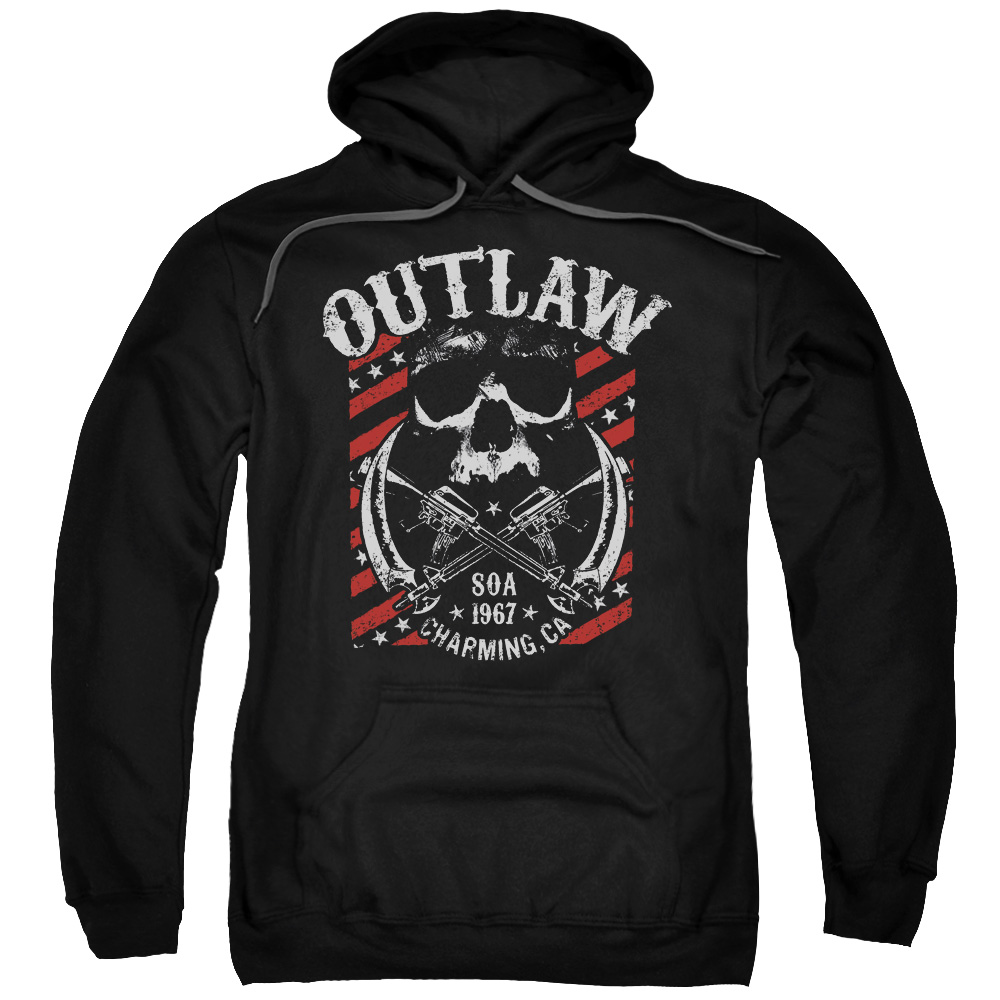 Sons Of Anarchy Outlaw Mens Pullover Hoodie