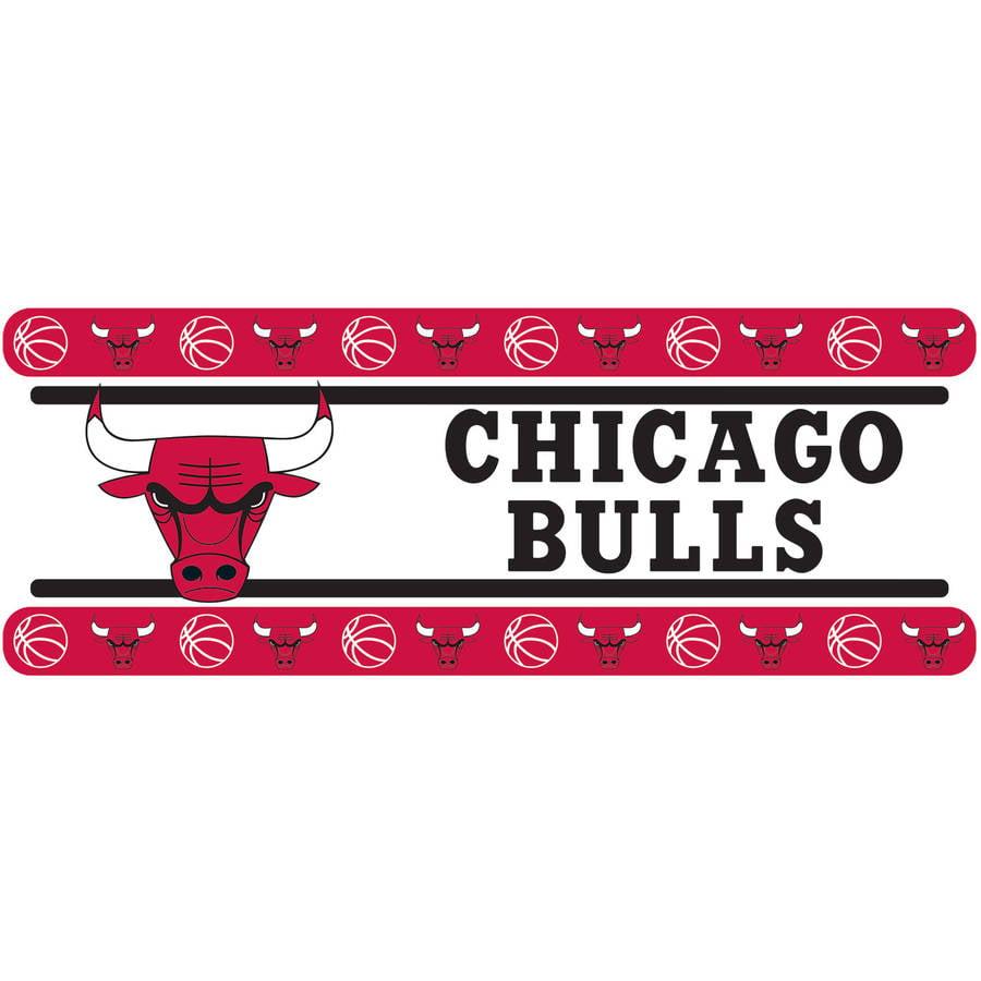 NBA Bulls Wall Border