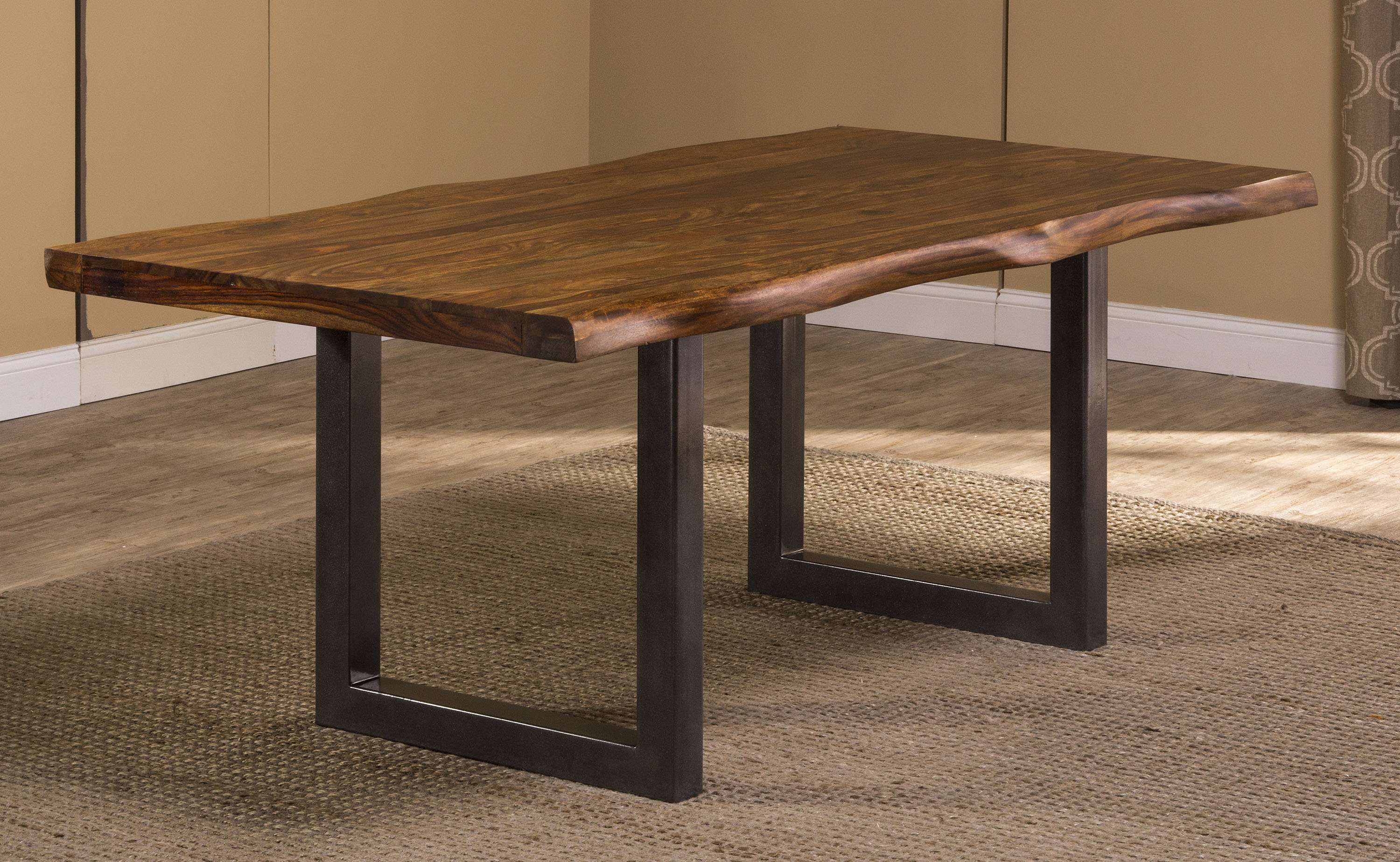Hillsdale Furniture Emerson Dining Table, Natural Sheesham