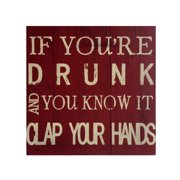 Cheungs 'Clap Your Hands' Print on Wood