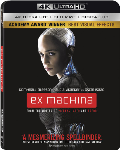 Ex Machina (4K Ultra HD + Blu-ray + Digital HD)