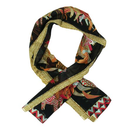 Laurel Burch - Laurel Burch Native Horses Sequin Silk Scarf - - Horse Riding Scarf