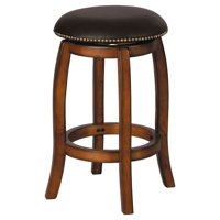 Acme Furniture Chelsea Curved Leg Swivel Counter Height Stool