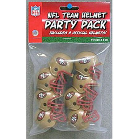San Francisco 49ers Team Helmet Party Pack - image 1 de 1