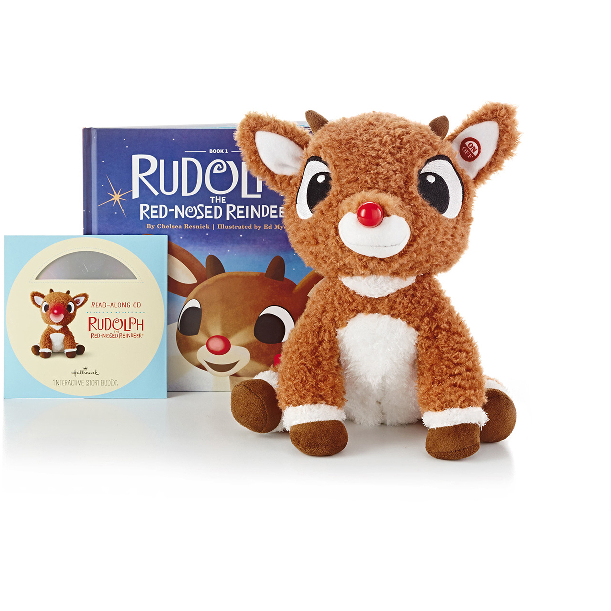 Hallmark Rudolph Interactive Story Buddy with Book and CD