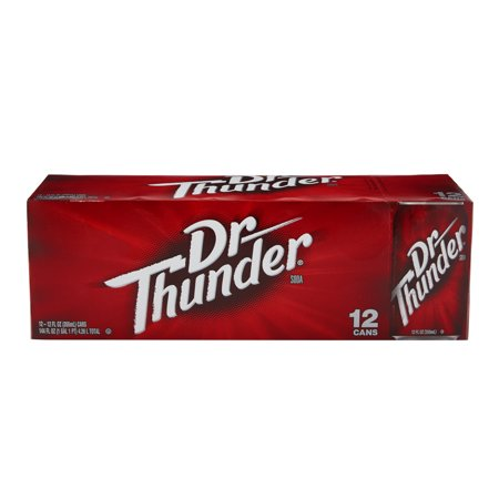 (2 Pack)Sam's Choice Dr. Thunder Soda, 12 Fl Oz, 12 (Low Fat Soda)