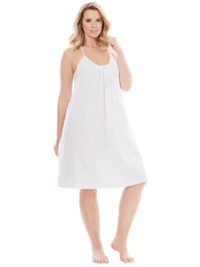 3fd043416ed Womens Plus Nightshirts   Gowns - Walmart.com