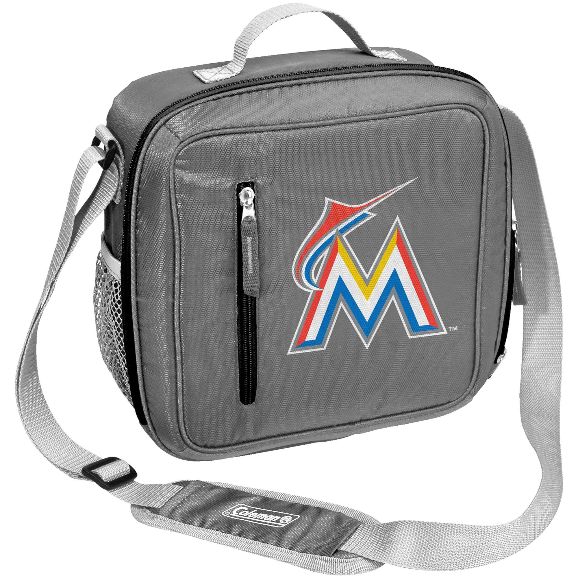 Miami Marlins Coleman Team Logo Messenger Cooler - No Size