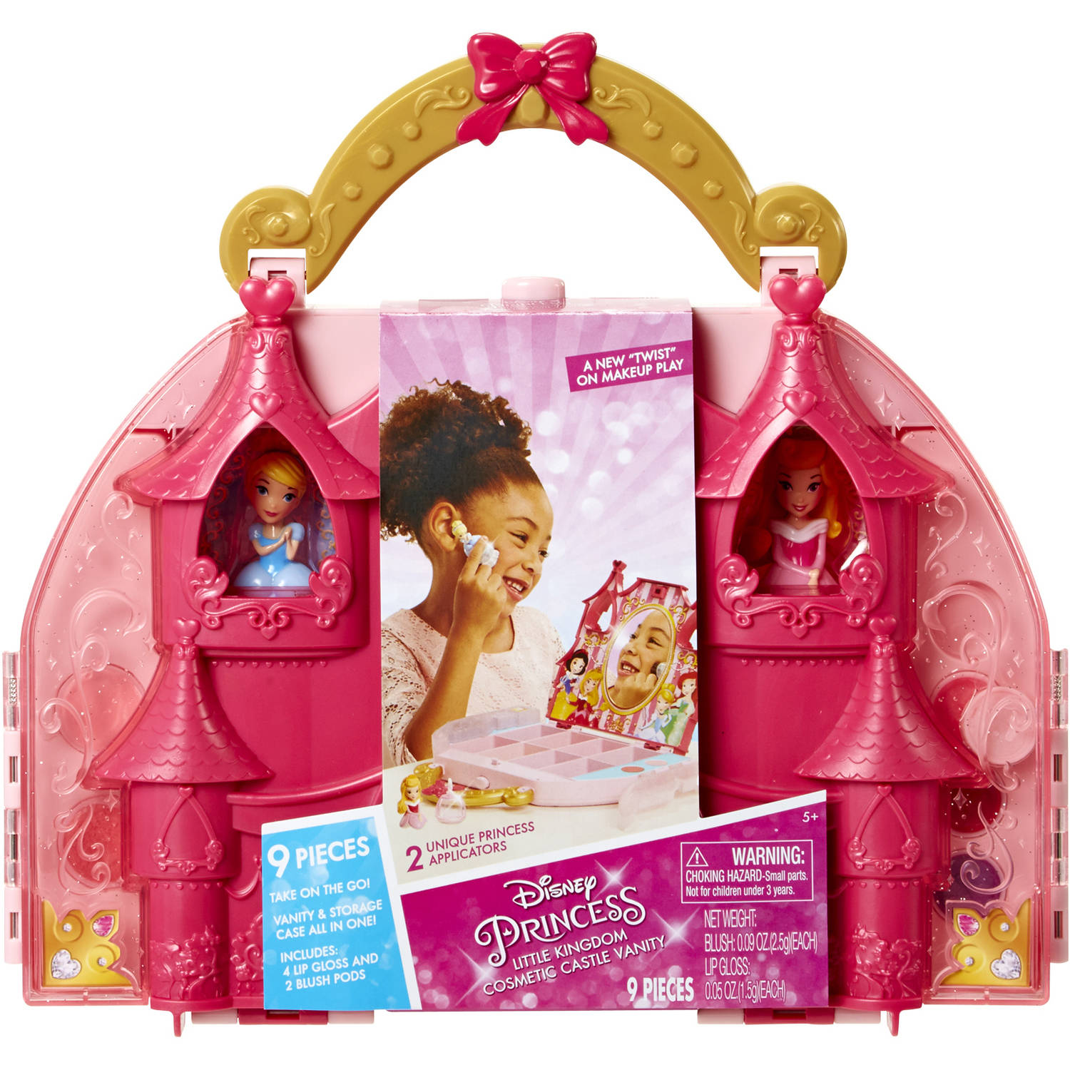 Disney Princess Makeup Collection -Cosmetic Castle Vanity