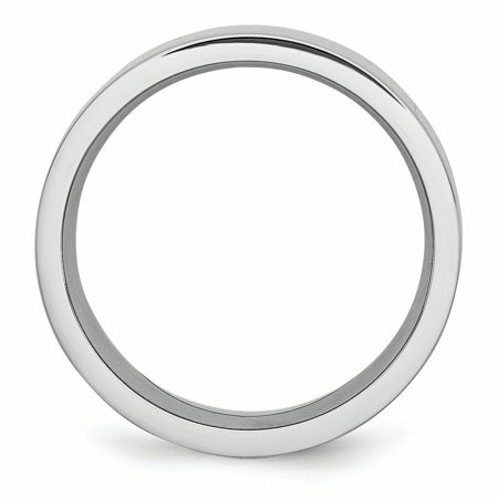 Cobalt Flat 8mm Wedding Ring Band Size 13.00 Classic Fashion Jewelry Gifts For Women For Her - image 4 de 10
