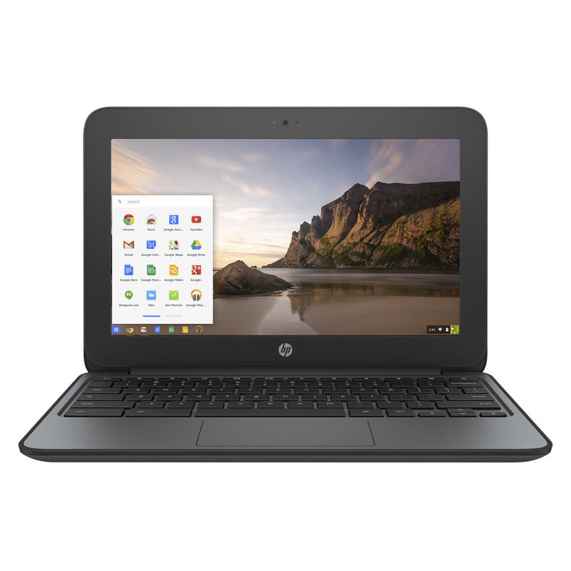 "HP 11.6"" Chromebook 11 G4 EE w/ Intel Celeron N2840, 2GB RAM, & 16GB eMMC"