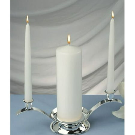 Decorate Unity Candles - Light In the Dark Elegant Unity Candles (Set of 3)