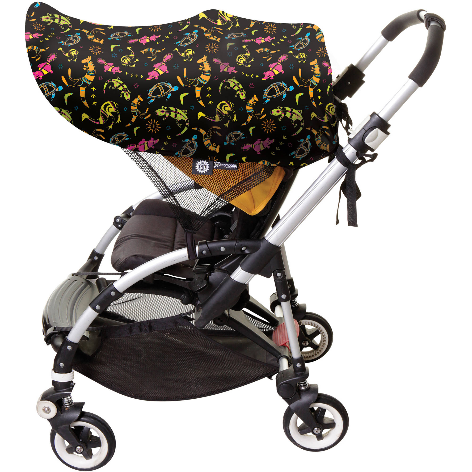 Dreambaby Large Strollerbuddy Extenda-Shade, Animal Print