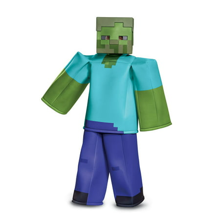 Minecraft Zombie Prestige Child Costume - Printable Minecraft Costume
