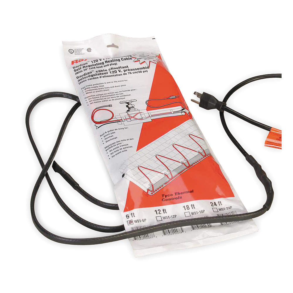 RAYCHEM Self Regulating Heating Cable W51-100P