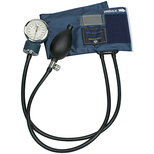 MABIS Precision Series Aneroid Sphygmomanometer, Large Adult