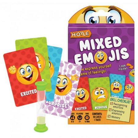 Child Card Games: Mixed Emojis Multi Hoyle (Hoyle Card Games Cd)