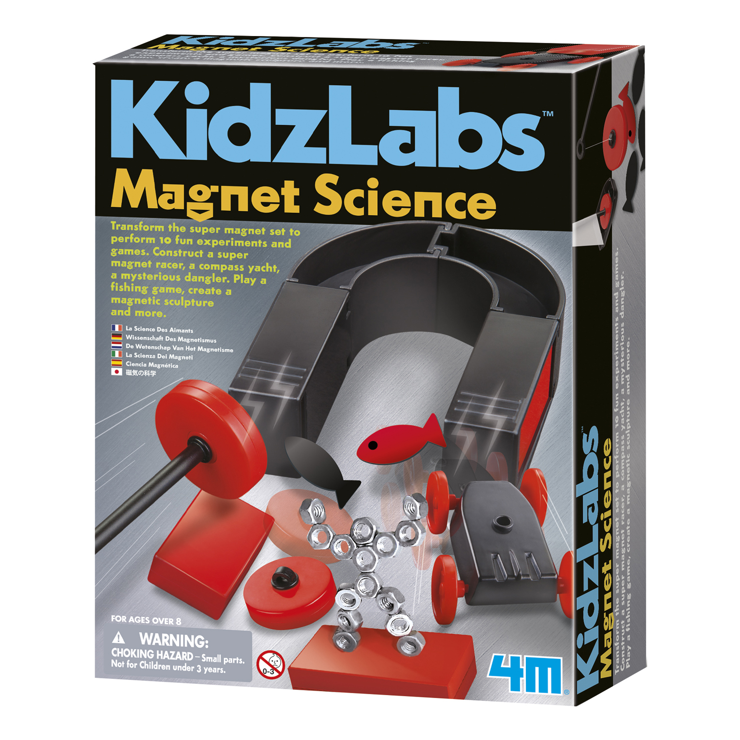 science magnet kit 4m magnets toys kidzlabs kidzlab kits walmart power amzn