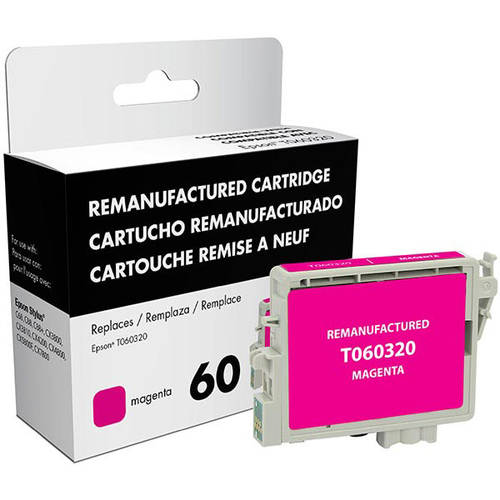 CIG Remanufactured Magenta Ink Cartridge (Alternative for Epson T060320) (600 Yield)