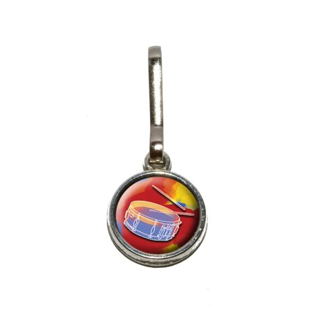 Percussionist - Band Orchestra Instrument Music Percussion Snare Drums Charm Zipper (Pipe Band Snare)