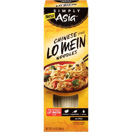 (4 Pack) Simply Asia Chinese Style Lo Mein Noodles, 14 oz Oriental Style Noodle