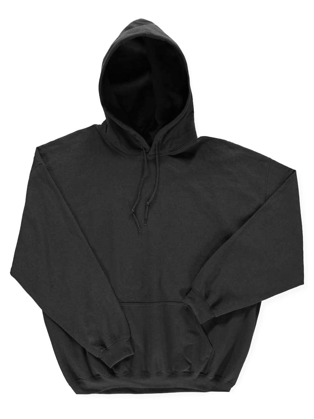 Basic Fleece Hoodie (Adult Sizes S - 3XL)