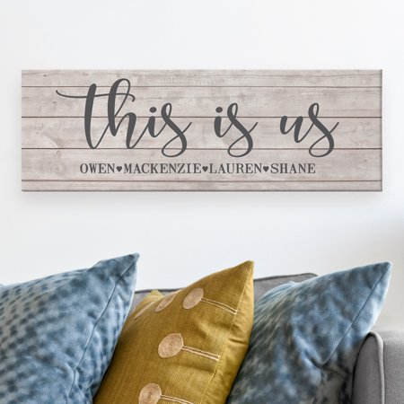- Personalized This Is Us Canvas