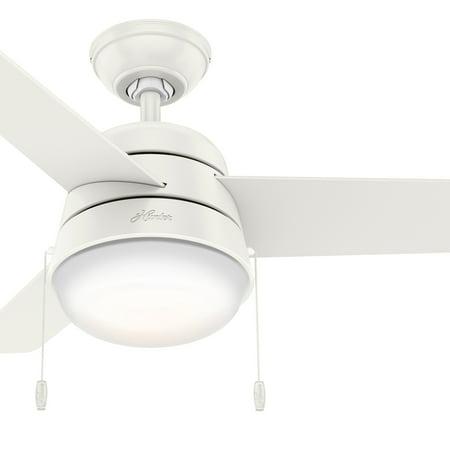 36 ceiling fan with light nickel ceiling hunter fan 36