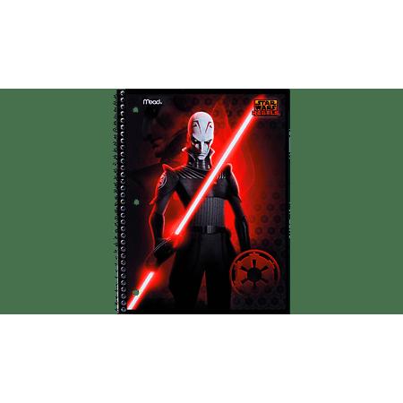 Star Wars Rebels Notebook: 1-Subject, WR, Inquisitor (Spiral Episodes)