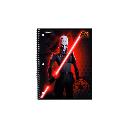 Star Wars Rebels Notebook: 1-Subject, WR,