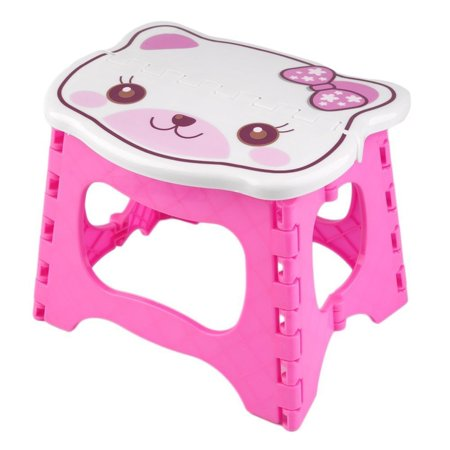 Kids Step Stool 9 Inch Width By 8 Inch Tall Fold Able