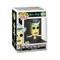 Funko POP! Animation: Rick & Morty - Mr. Poopy Butthole Auctioneer