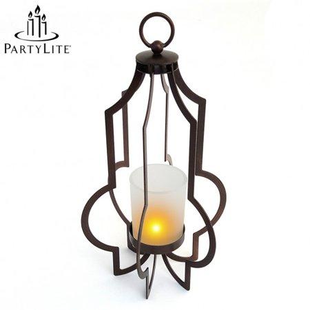 partylite marrakech hanging lantern candle holder. Black Bedroom Furniture Sets. Home Design Ideas