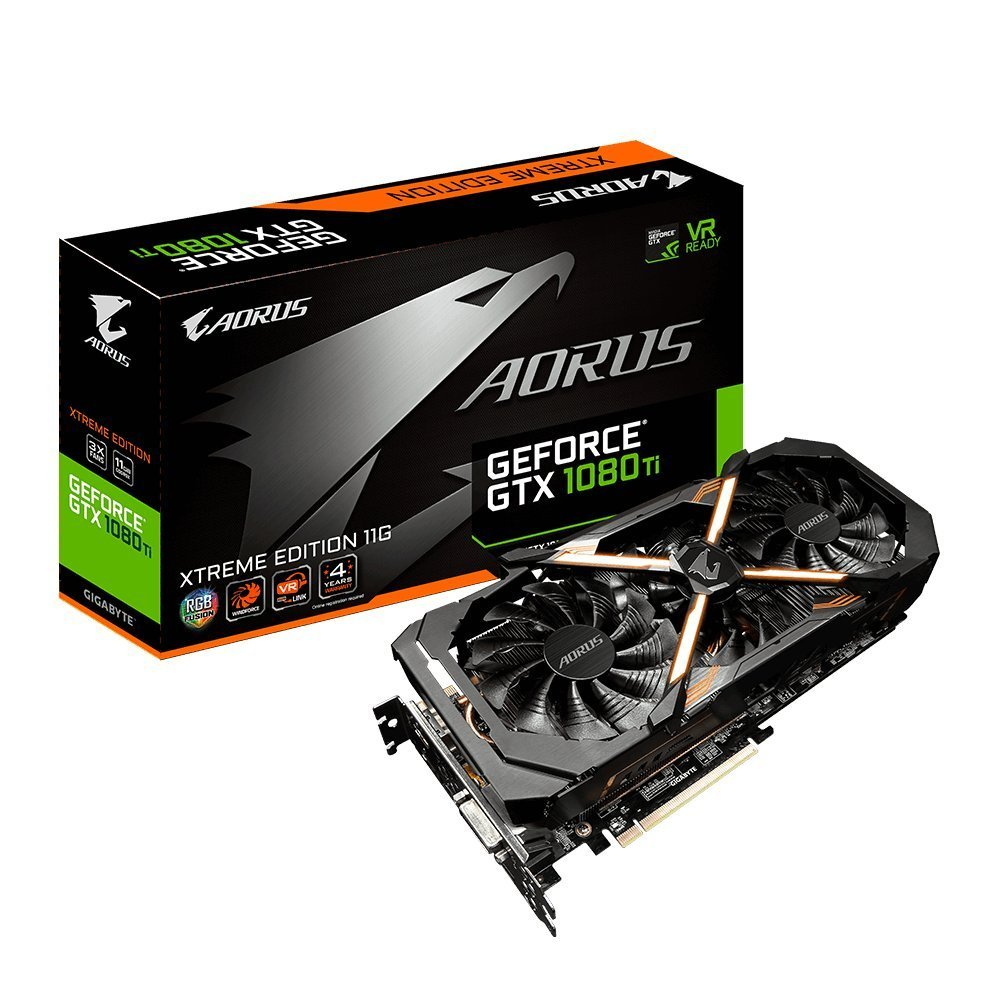 GeForce GTX 1080 Ti Graphics Card by GIGABYTE