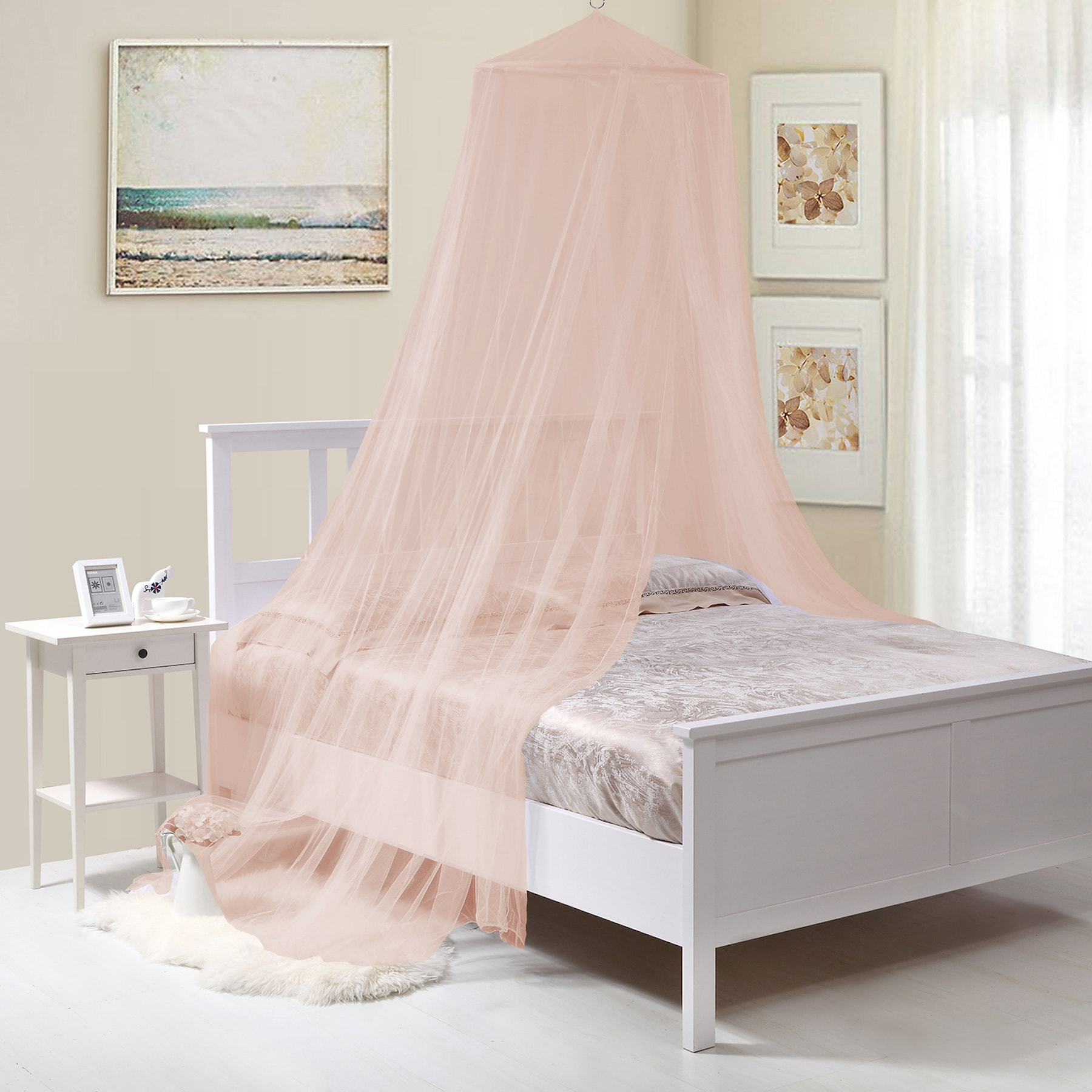 Epoch Hometex, Inc Kids Collapisble Wire Hoop Bed Canopy