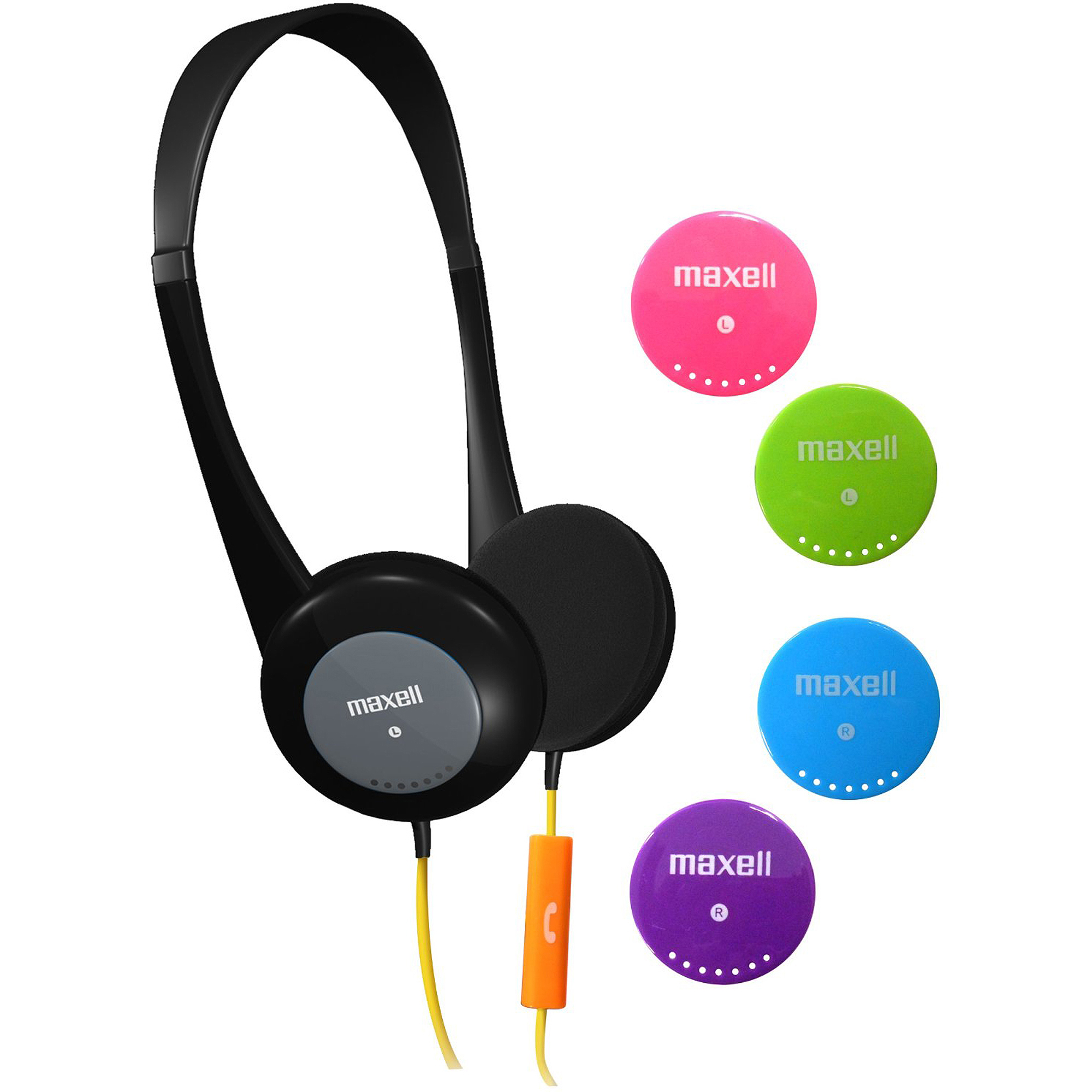 Maxell Action Kids Sport Headphones with Microphone