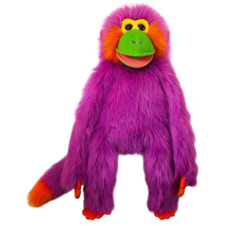 Purple Monkey Puppet 22 Inch   Stuffed Animal By Puppet Company  001606