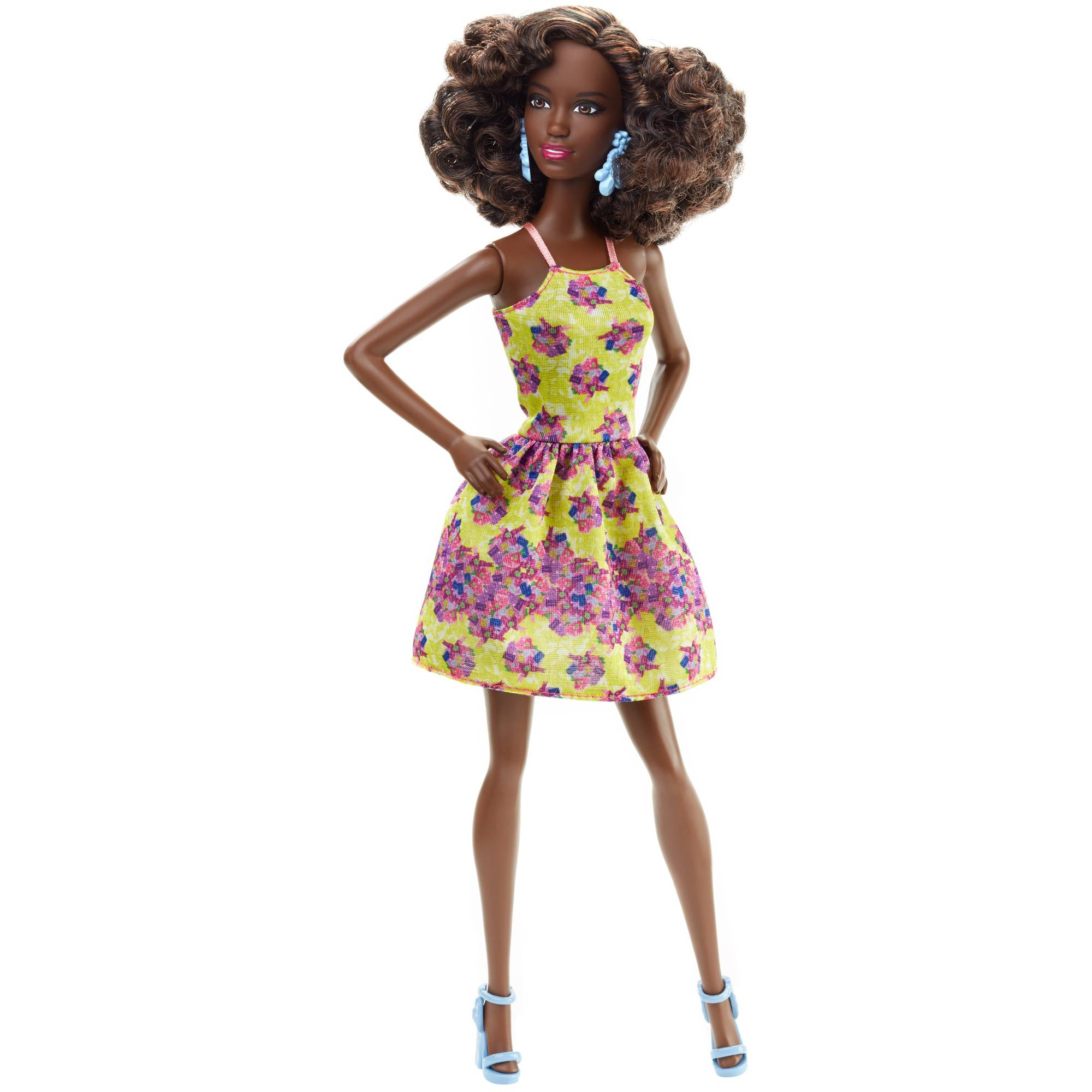 Barbie Fashionistas Fancy Flowers, Original Body Doll