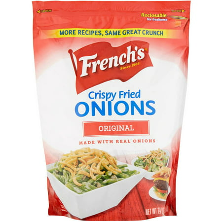 French Fried Potatoes (French's Original Crispy Fried Onions, 24 oz, (Pack of 6))