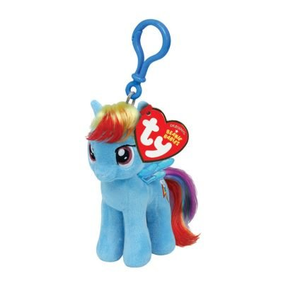 Ty Beanie Babies Rainbow Dash My Little Pony Clip (Dash Baby Product)