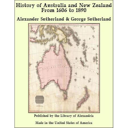 History of Australia and New Zealand From 1606 to 1890 - eBook](Halloween Australia History)