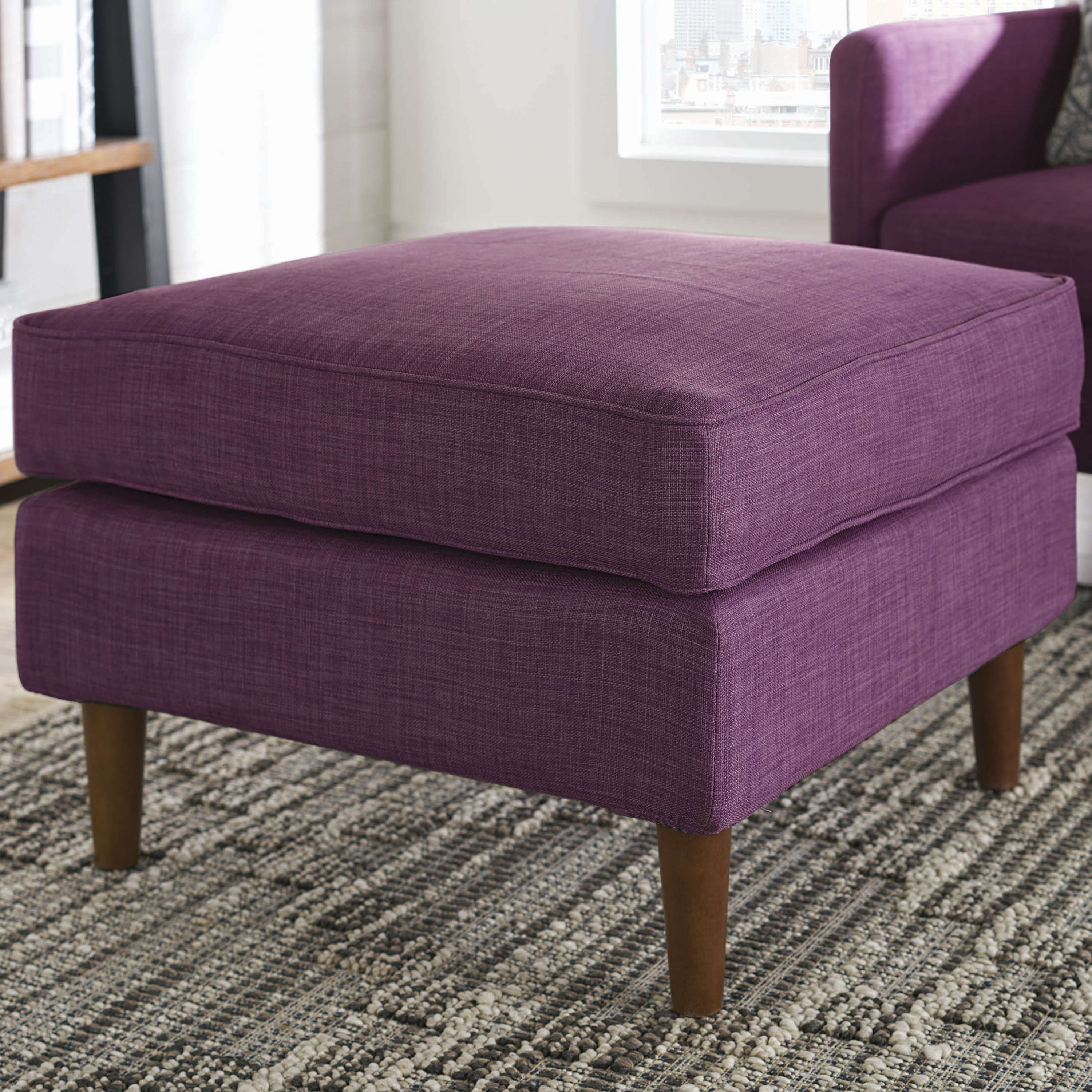 Better Homes & Gardens Griffin Ottoman, Multiple Colors