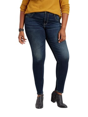 Plus Size Dark Wash Jegging Made With Repreve&Reg