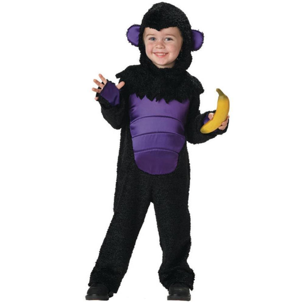 Toddler Gorilla Halloween Costume (Size: 2T-4T)
