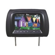 """Tview T726PLBK 7"""" TFT/LCD Car Headrest and MonitorPair Black"""