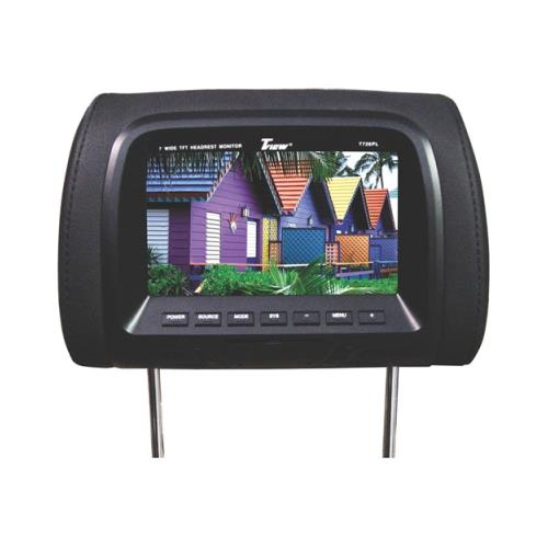 """""""Tview T726PLBK 7"""""""" TFT/LCD Car Headrest and MonitorPair Black"""""""