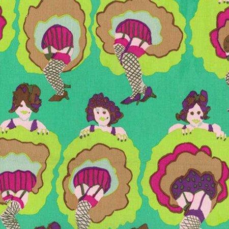 Free Spirit Fabrics Kaffe Fasset Fabrics Spring 2017 Collective Green You Can Can