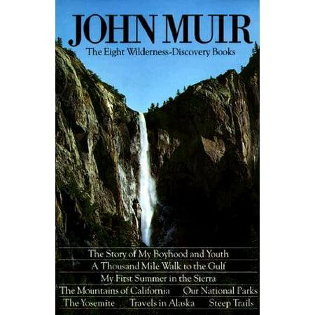 John Muir Wilderness Map - John Muir: The Eight Wilderness Discovery Books
