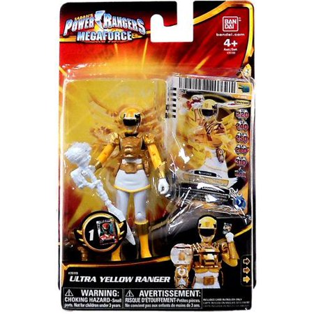 Power Rangers Megaforce Ultra Yellow Ranger Action Figure](Power Ranger Megaforce Robo Knight)
