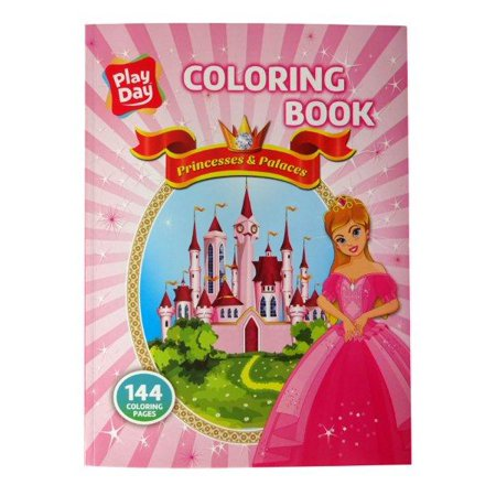 COLORING BOOK GIRL PRINCESS